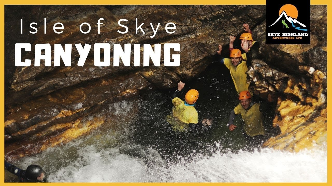 kayaking canyoning isle of skye whisky broadford backpackers hostel